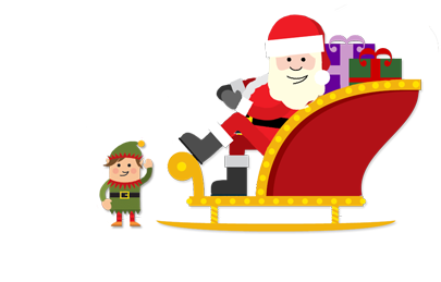 Santa and Festive Cheer on Saturday 22nd December