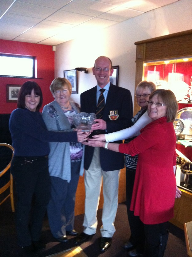 Rose Bowl presented to BHC