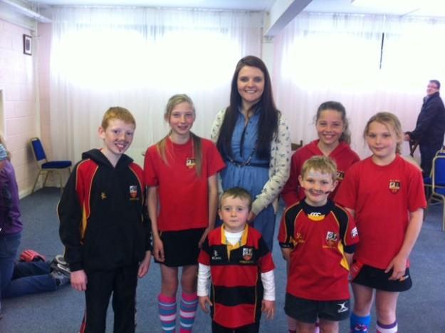 Juniors raise money for Paul Russell Trust Fund