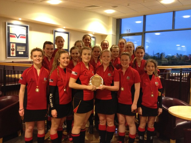 U15 Girls Win Plate Final!
