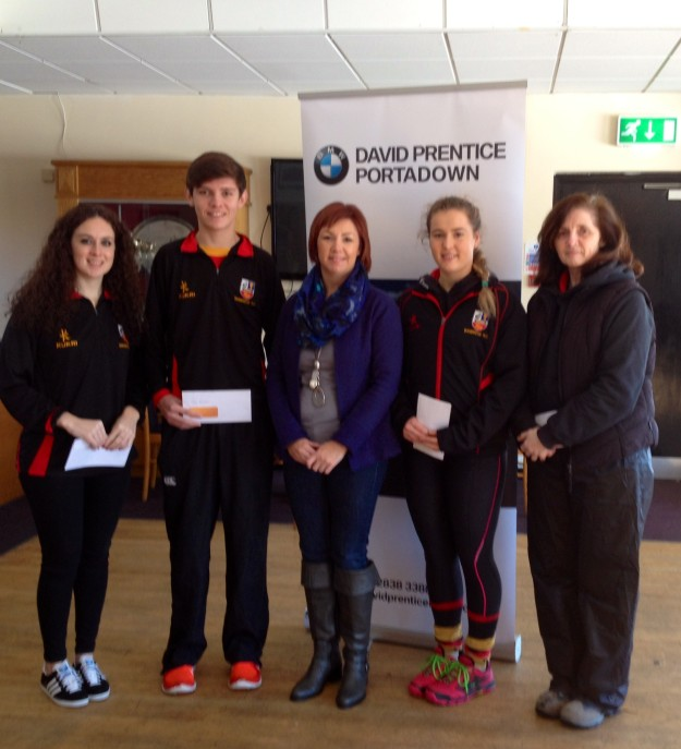 DAVID PRENTICE PLAYER OF MONTH AWARDS PRESENTED