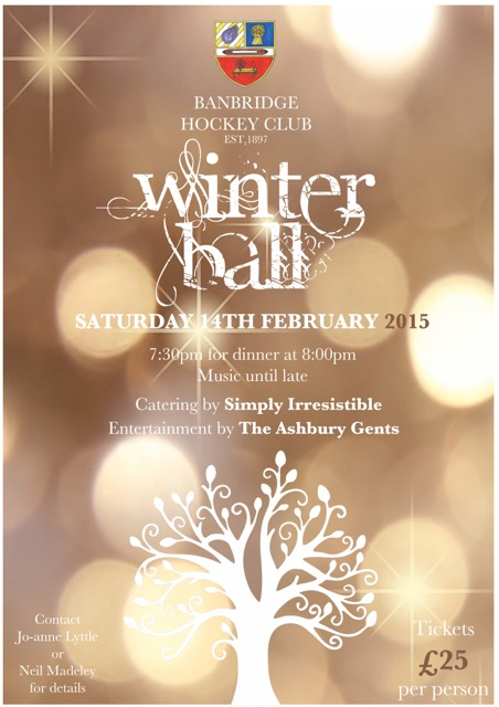WINTER BALL TICKETS ON SALE NOW