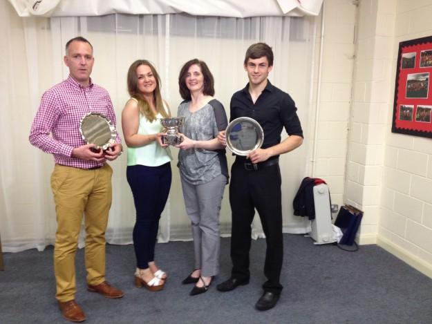 SENIOR CLUB AWARDS PRESENTED