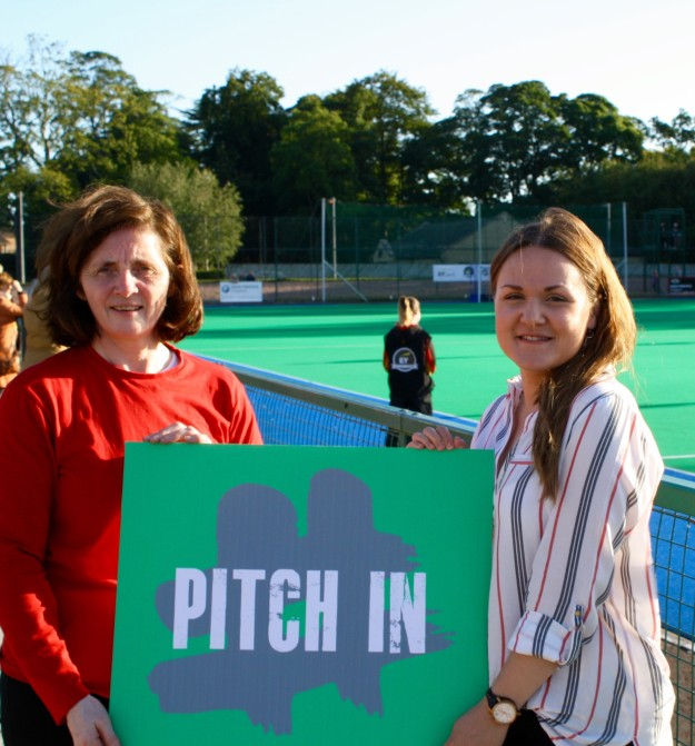 'PITCH IN' FOR NEW PITCH AT HAVELOCK
