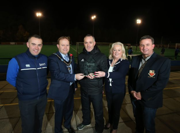 Mark Tumilty Recognised at Sport NI Coaching Awards