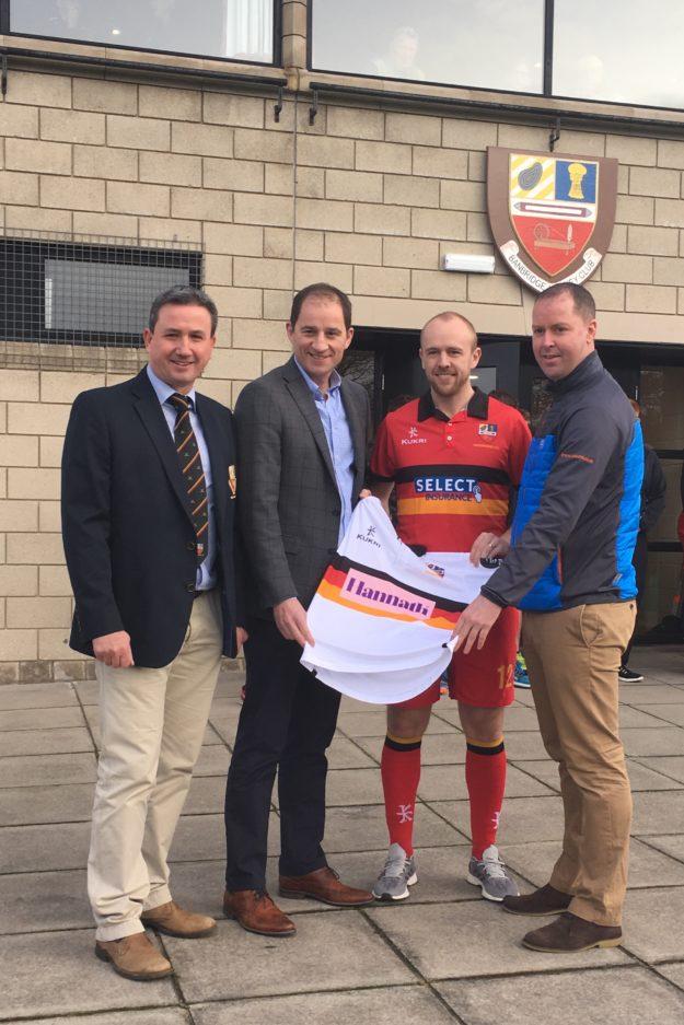 Hannath Estate Agents & Select Insurance sponsor Men's 1st XI