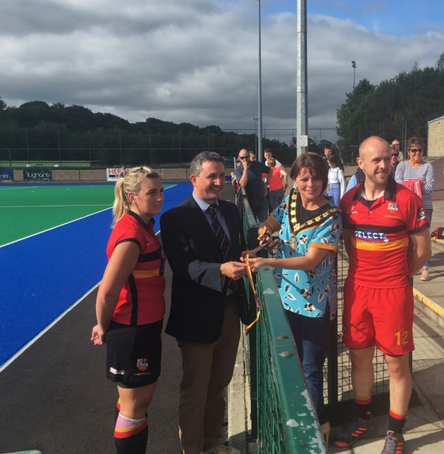 NEW PITCH OFFICIALLY OPENED